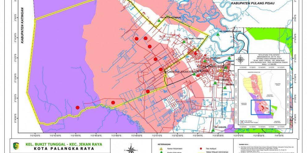 Kelurahan Bukit Tunggal   Hanya Pemerintah Kota Palangka ...